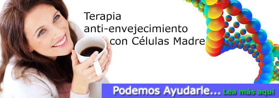 Terapia Antienvejecimiento con Células Madre en Guatemala