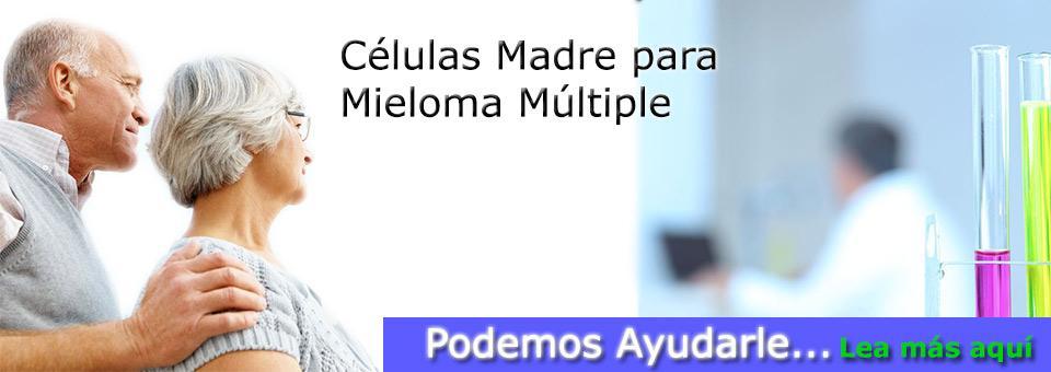 Trasplante de Células Madre para tratar Mieloma Múltiple
